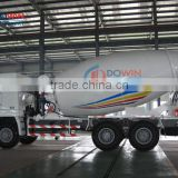 Howo hydraulic pump 8m3 concrete mixer truck for sale