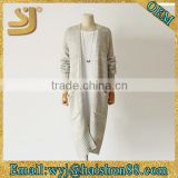 Stylish fancy full body knitting patterns sweater coat bats sleeve knitted cardigan sweater