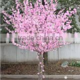 Lasted design decorative artificial peach blossom tree /artificial tree for home or building decoration with competitive price
