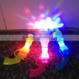 plastic gun kids night light, decorative night light lamp, custom color changing led night light toys