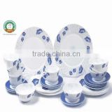 Algeria Hot Sales!! 55pcs Dinner Set Heat Resistant Opal Glassware