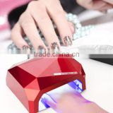 36W Nail Art LED CCFL Nail Dryer Curing Machine For UV Gel LED Lamp FOR Nail Polish Tool