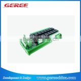5V,12V,24V 16 channel multifunction relay module /delay /self-locking /cycle/ timer/time relay board