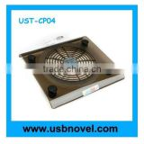 usb notebook cooling pad with led light