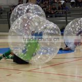 HOT!! Promotion PVC/TPU human inflatable bumper bubble ball,inflatable belly bumper ball