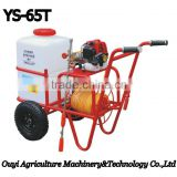 Zhejiang Taizhou High Quality Popular Tractor Plastic Water Sprayer Tank Agriculture Gasoline Power Sprayer YS-65T
