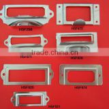 manufacturing high quality various patters drawer pull , metal drawer pull for boxes