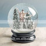 Polyresin+glass Water Globe Music snow ball Snow Globe