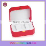 Red Plastic watch box wholesale(WH-0602JL)