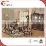 European design Home furiniture, high end classic wood dining table and chair 2016 WA182
