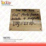 ECOZONE Sell to 50 countries eco bamboo souvenir wood photo frame