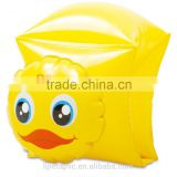 Promotional inflatable loverly duck arm bands for kids