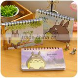 Cute School Diary Notebook Paper Spiral Notepad Journal Planner Day Scheduler Mini Notebook Stationery Supplies 2016
