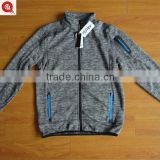 Wholesale china woven OEM service men's knitted warmer jackets
