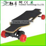 3 Layers Bamboo 2 Layers Fiberglass Electric Longboard Skateboard Four Wheel Hoverboard 1800W