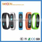New E02 Smart band Smart bracelet Wristband Fitness tracker Bluetooth 4.0 fitbit flex Watch for ios android better than miband
