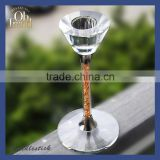 Hanging glass candle holders/ tall aluminum candle holders/ long stem votive candle holders wholesale