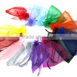 In Stock Mixed Color Wedding Favour Wholesale Gift Organza Bags Pouch