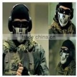Cheap Seal Half Face Airsoft Paintball Wargame Tactical Skull Cycling Mask for Motorcycle Bicycle