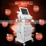 High Intensity Foucsed Ultrasound Anti-wrinkle Hifu Machine with 10000 shoots each Cartridges