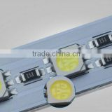 Unique design Low Price SMD 5050 60led/meter led light bar aluminium rigid led lights manufacturer for Jewelry Cabinets/showcase
