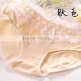manufacturers wholesale selling double bow net yarn lace cotton cotton underwear,panty women's sexy lovely cake layer