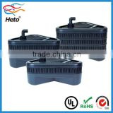 Aquarium fish farm drum filter with bio sponge filters