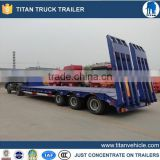 3axle 40ft flatbed container semi trailer/40ton flatbed semi trailer/flat bed trailer for sale
