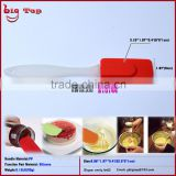 "BT0144 New 9"" Silicone Spatulas with PP Handle Butter Scraper Cake Scraper Long Handle Ice Scraper"
