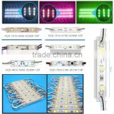 XQD 3 chips 5050 /5630/5054/3528 SMD modules led waterproof glue different size led modul RGB led module with 3M adhesive