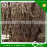 alibaba china supplier hot product wooden designs embossed stainless steel plate for door