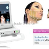 Face Lifting Sinco HIFU Ultrasonic Skin Tighting Machine 0.1-2J Anti Aging Electric Wrinkle Remover HIFU Machine