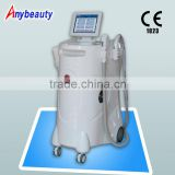 With CE Ipl Rf Nd Tattoo Removal Laser Machine Yag Laser Wax Machine Telangiectasis Treatment