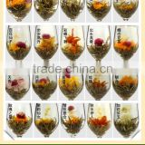 100% Handmade Blooming Flavor Tea With Flower OEM service