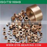 Tractor FU Sintered bronze bushing for / automotive part sintered brass bush made in China