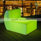 colorful remote control led sofa for event