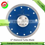 "Hot selling high quality 6"" 150mm diamond saw blade/diamond blade for granite/marble/diamond tool manufacturer"