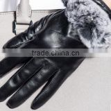 HOT SELLING Women's natural waterproof leather gloves