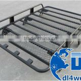 Guangzhou Factory 4x4 Auto Parts Cargo Box Steel Roof Rack Basket Car Accessory