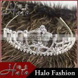 Fhinestone Hair Accessories Women Crystal Wedding Tiaras For Bride Halo H172-065