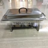 Lihong factory stainless steel mirror surface hot food warmer buffet server/chafing dish/chafer/buffet server
