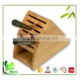 China manfacturer bamboo clear knife holder