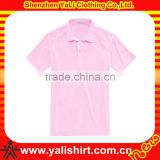 Custom latest design solid color short sleeve blank cotton golf polo shirts garment buyers