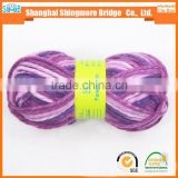 alibaba china yarn supplier hot sales high quality small order chunky acrylic polyester blended yarn for hand knitting