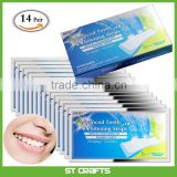 14 Pack Professional Teeth Whitening Strips Bright White Express Strips Save Removes Stains Fast Teeth Whitening Kit