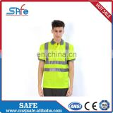 Best Selling safety polo shirts high visibility