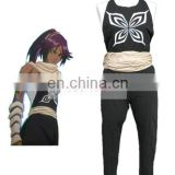 Rose team-Free Shipping Bleach Yoruichi Shihoin hornet's crest Fighting Uniform Anime Sexy Halloween Carnival Costumes