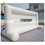 Large outdoor inflatable movie projector screen for sale