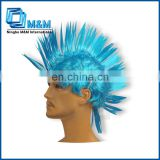 Custom Design Natural Hair Hot Sale Party Wig For Men