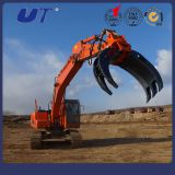 Excavator Attachment Hydraulic Log Grab